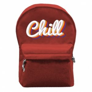 Backpack with front pocket Chill