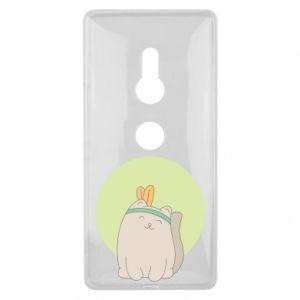 Etui na Sony Xperia XZ2 Chinese cat
