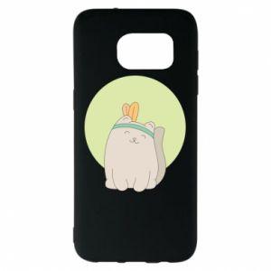 Etui na Samsung S7 EDGE Chinese cat