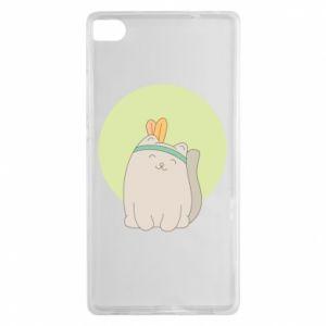Etui na Huawei P8 Chinese cat