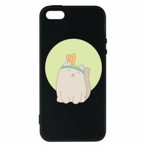 Etui na iPhone 5/5S/SE Chinese cat