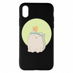 Etui na iPhone X/Xs Chinese cat