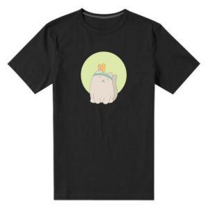 Męska premium koszulka Chinese cat