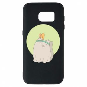 Etui na Samsung S7 Chinese cat