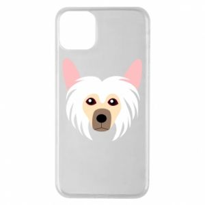Phone case for iPhone 11 Pro Max Chinese Crested Dog - PrintSalon