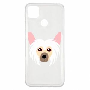 Etui na Xiaomi Redmi 9c Chinese Crested Dog