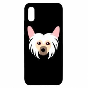 Etui na Xiaomi Redmi 9a Chinese Crested Dog