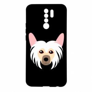 Etui na Xiaomi Redmi 9 Chinese Crested Dog