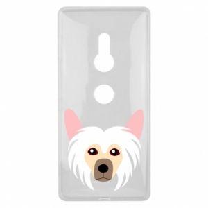 Etui na Sony Xperia XZ2 Chinese Crested Dog
