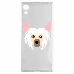Etui na Sony Xperia XA1 Chinese Crested Dog