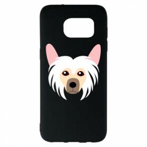 Etui na Samsung S7 EDGE Chinese Crested Dog