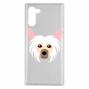 Etui na Samsung Note 10 Chinese Crested Dog