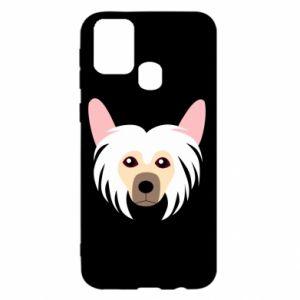 Etui na Samsung M31 Chinese Crested Dog