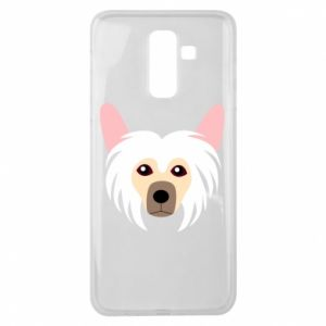 Etui na Samsung J8 2018 Chinese Crested Dog