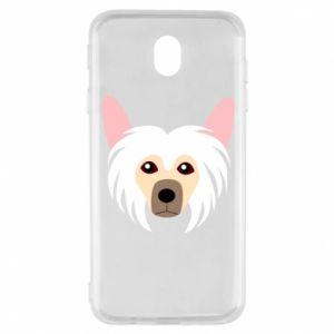 Etui na Samsung J7 2017 Chinese Crested Dog