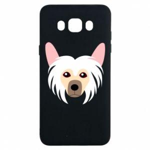 Etui na Samsung J7 2016 Chinese Crested Dog