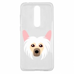 Etui na Nokia 5.1 Plus Chinese Crested Dog