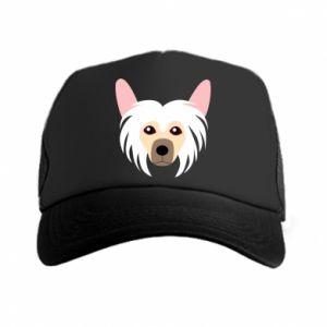 Trucker hat Chinese Crested Dog - PrintSalon