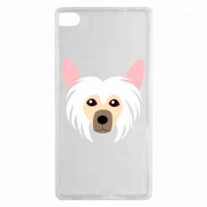 Etui na Huawei P8 Chinese Crested Dog