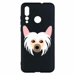 Etui na Huawei Nova 4 Chinese Crested Dog