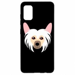 Etui na Samsung A41 Chinese Crested Dog