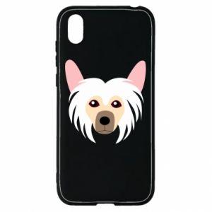 Etui na Huawei Y5 2019 Chinese Crested Dog