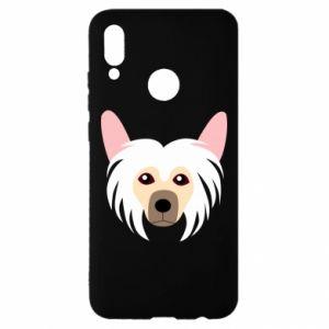 Etui na Huawei P Smart 2019 Chinese Crested Dog