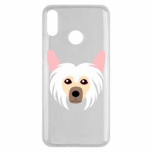 Etui na Huawei Y9 2019 Chinese Crested Dog