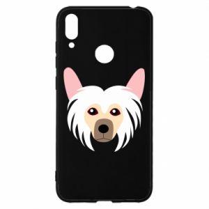 Etui na Huawei Y7 2019 Chinese Crested Dog