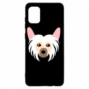 Etui na Samsung A31 Chinese Crested Dog