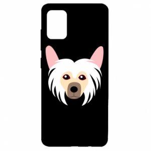 Etui na Samsung A51 Chinese Crested Dog