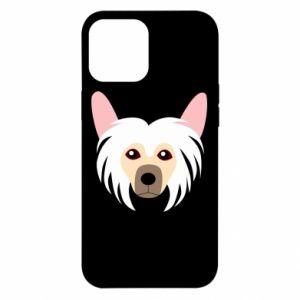 Etui na iPhone 12 Pro Max Chinese Crested Dog