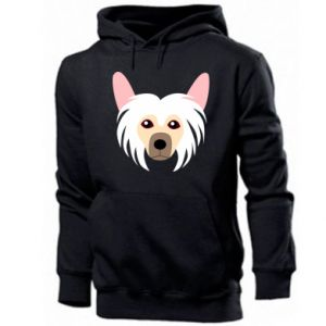 Men's hoodie Chinese Crested Dog