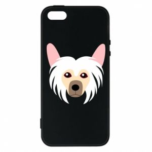 Phone case for iPhone 5/5S/SE Chinese Crested Dog - PrintSalon
