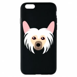Phone case for iPhone 6/6S Chinese Crested Dog - PrintSalon