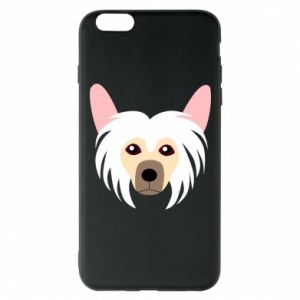 Phone case for iPhone 6 Plus/6S Plus Chinese Crested Dog - PrintSalon
