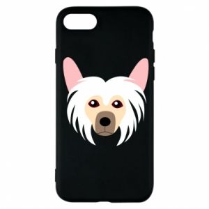 Phone case for iPhone 7 Chinese Crested Dog - PrintSalon