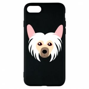 Phone case for iPhone 8 Chinese Crested Dog - PrintSalon