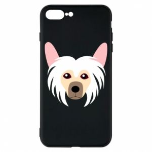 Phone case for iPhone 8 Plus Chinese Crested Dog - PrintSalon