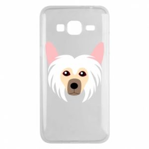 Phone case for Samsung J3 2016 Chinese Crested Dog - PrintSalon
