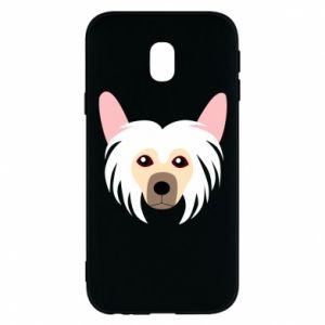Phone case for Samsung J3 2017 Chinese Crested Dog - PrintSalon