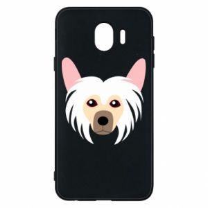 Phone case for Samsung J4 Chinese Crested Dog - PrintSalon