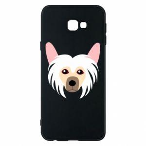 Phone case for Samsung J4 Plus 2018 Chinese Crested Dog - PrintSalon