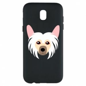 Phone case for Samsung J5 2017 Chinese Crested Dog - PrintSalon