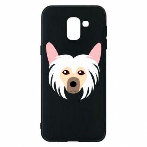 Phone case for Samsung J6 Chinese Crested Dog - PrintSalon