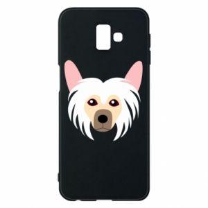Phone case for Samsung J6 Plus 2018 Chinese Crested Dog - PrintSalon