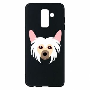 Phone case for Samsung A6+ 2018 Chinese Crested Dog - PrintSalon