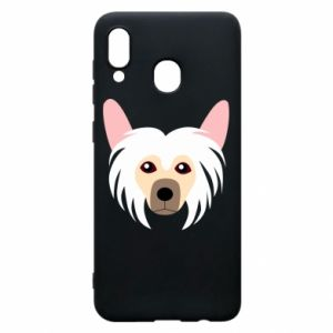 Phone case for Samsung A20 Chinese Crested Dog - PrintSalon