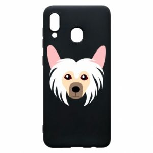Phone case for Samsung A30 Chinese Crested Dog - PrintSalon