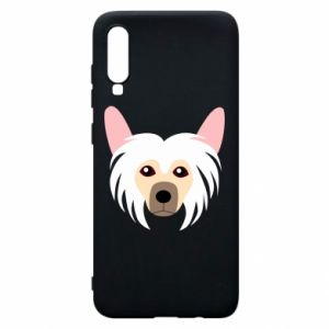 Phone case for Samsung A70 Chinese Crested Dog - PrintSalon